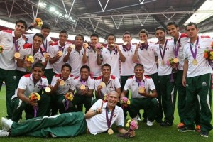 Gold in London for Mexico (Image from Getty)