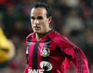 Landon started in Germany with Bayer Leverkusen
