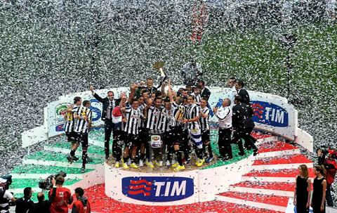 Juventus lift the title in 2012