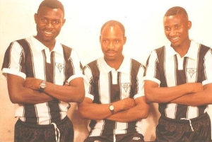 The Ndlovu brothers - Adam, Madinda and Peter
