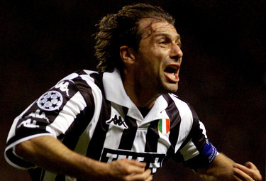 Captain Conte during his playing days