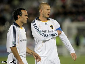Donovan + Beckham never saw eye to eye