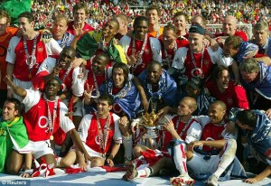 The Invincibles celebrate another win