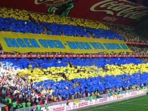 Brondby Fans (Image by Lars Olsen)