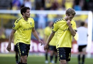 Brondby players (Image from Nordjyske.dk)