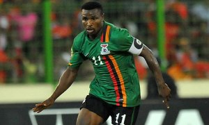 Zambia Captain Chris Katongo is a role model for kids