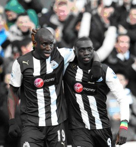 Cisse and Ba in better times