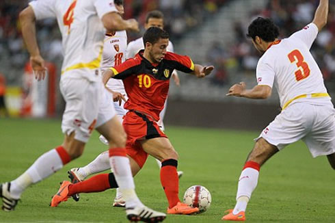 Eden Hazard excites the Belgian fans every time he plays (Image: Guardian.co.uk)
