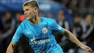Denisov was relegated to the youth team following a bust up at Zenit