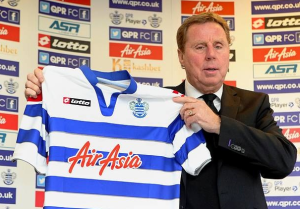 Task in Hand - new boss, Harry Redknapp