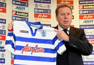 Task in Hand - new boss, Harry Redknapp