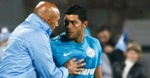 Hulk and Spalletti haven't seen eye to eye for a while