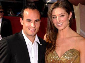 Donovan and wife, Bianca Kajlich in 2010
