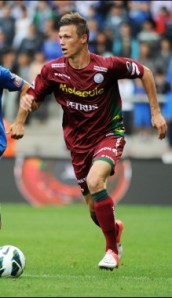 Striker Jens Naessens