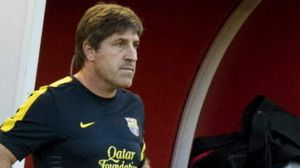 Assistant Jordi Roura will take charge of the first team