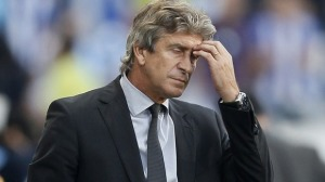 Not again! More worries for Manuel Pellegrini
