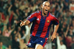 Ronaldo in his best years with Barca