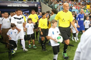 Ronaldo and Zidane lead the way in the UN Charity match