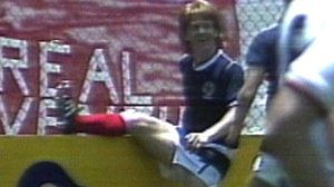 Strachan won 50 caps for Scotland as a player (Image from BBC Archives)