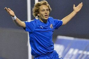 Alen Halilovic scores with a beautiful lob (Image from Mirror.co.uk)