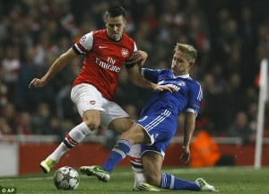 Holtby turned down Arsenal to Join Spurs (Image from AP)