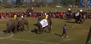 The Match gets under way (Image from Video)