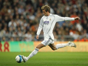 Bend it like Beckham - David Beckham (Image from Getty)