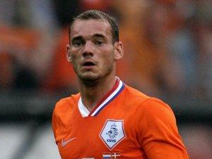 Dutch master Sneijder (Image from AP)
