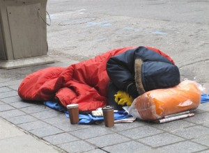Homeless in Swansea  (Image from Hopetogether.org.uk)