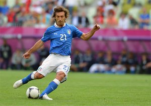Italy Pirlo is a deadball specialist (Image from AP)