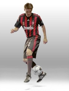 Kaka in his AC Milan days (Image from Fotopedia)