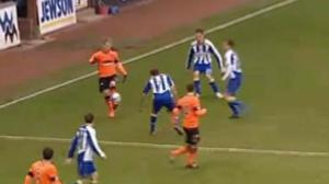 Mackay shows his skills against Kilmarnock (Image from AP)
