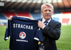 New Scotland manager, Gordon Strachan (Image from Getty)