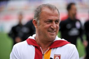 Please with his new signing -  Fatih Terim (Image from CP)