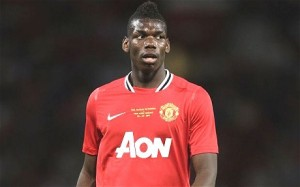 Pogba as a United player (Image from AP)