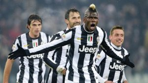 Pogba grabs a brace against Udinese (Image from Reuters)