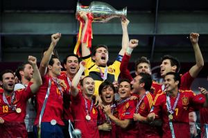 Spain Wins Euro 2012 (Image from CP)