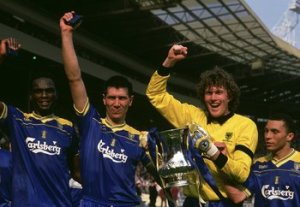 The Crazy Gang secure an unlikely Cup Victory (Image from Bleacher Report)