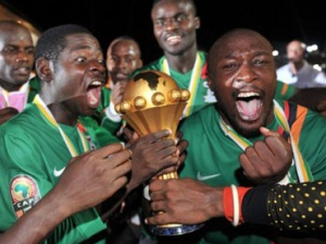 Zambia wins last years Cup (Image from AFP PHOTO / ISSOUF SANOGO)