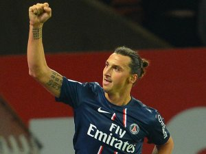 Ibrahimovic has been in fine form this season (Image from sportige.com)