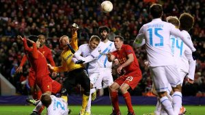 Liverpool crash out of Europe to Zenit (Image from AFP)