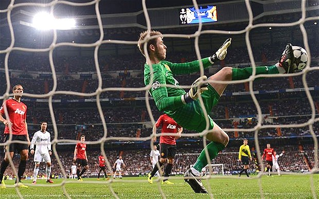 De Gea improvises to keep Madrid at bay (Image from Getty)