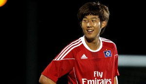 Hamburg's Heung Min Son (Image from Getty)