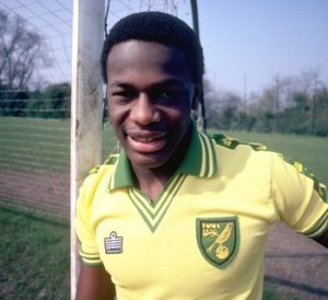Justin Fashanu was the first player to come out (Image from Allsport UK /Allsport