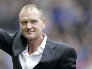 Gascoigne looking frail at an event recently (Imge from Getty)