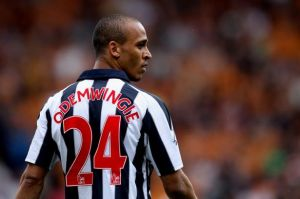 No Escape for Peter Odemwingie(Image from AP)