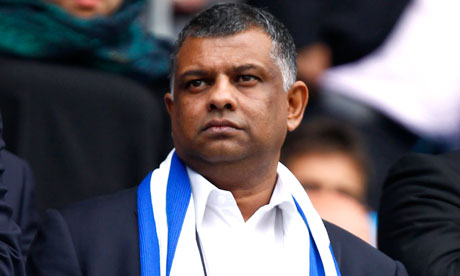 Tony Fernandes, QPR chairman and financier (Image from AP)