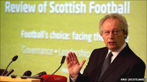 McLeish's report set out clear plans to rejuvenate Scottish Football from the ground up (image from Getty)