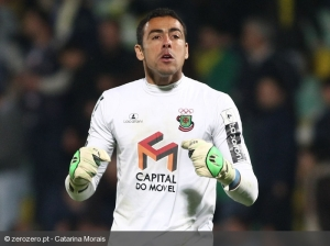 Solid as a Rock - Brazilian Goalkeeper Cassio  (Image from AFP)