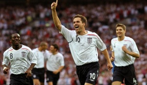 Owen scores for England in 2007 (Image from PA)